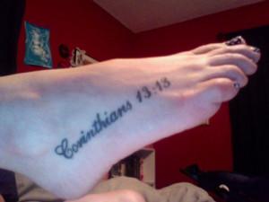 Bible Verse Tattoos – Can You Resist A Bible Verse Tattoos ?