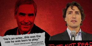 Michael Ignatieff's Quote About 'Actor' Trudeau Used In Tory Attack