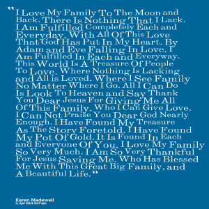 ... you son xoxoxo family blood perfect family i love my family quotes
