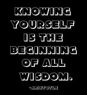 Wisdom ~ Aristotle #Quote