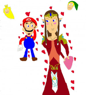Super Mario Happy Valentine
