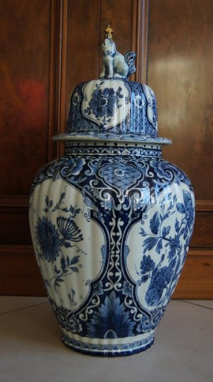 Well, at the end of the story an example of how looks ginger vase from ...