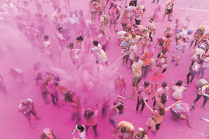 The photo above shows a 5K color event. Bangor High School's National ...