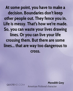 Meredith Grey Life Quotes