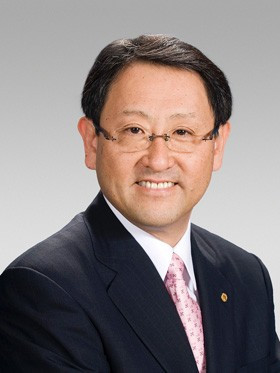 ... be a toyoda back at the helm of toyota akio toyoda the grandson of