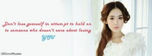Pretty Girl Quote Facebook Cover Photos