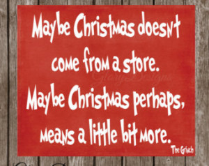 Chrismas Sayings And Decor Popular items for grinch quote on Etsy