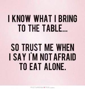 Alone Quotes Self Confidence Quotes Confident Quotes Trust Me Quotes