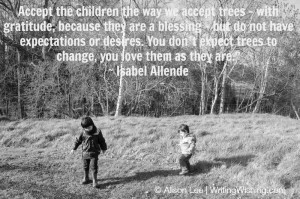 Isabel Allende quote on love and childr