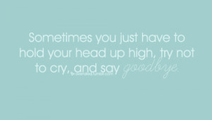 , farewell quotes, hurt, love sucks, pretending i'm okay, quotes, say ...