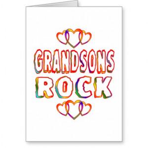 Grandsons Rock Cards