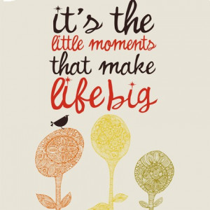 inspirational art_little moments