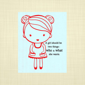 Girl Empowerment quote- Kids wall art, Nursery Art, Playroom art, Baby ...