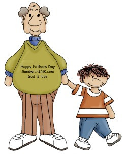Happy Father's Day to the Sandwich Generation!