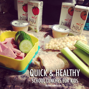 Packing a Healthy School Lunch For Kids