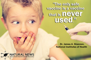 "The only safe vaccine is a vaccine that is never used."" - Dr. James ..."