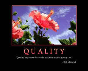 QUALITY - Motivational Wallpaper