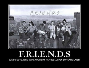 Funny photos funny Friends TV show poster
