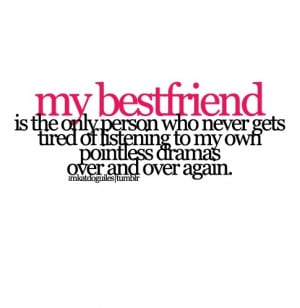 best friend, quote, text, typography