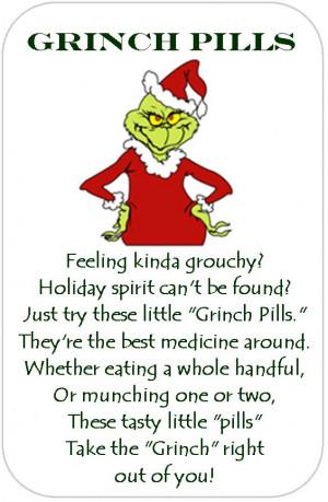 Grinch Pills!