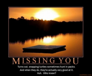 MISSING YOU -