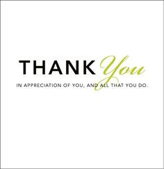 Thank You Quotes for Employees   Thank You: In Appreciation of You ...