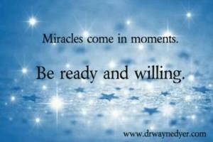 Miracles do happen :)