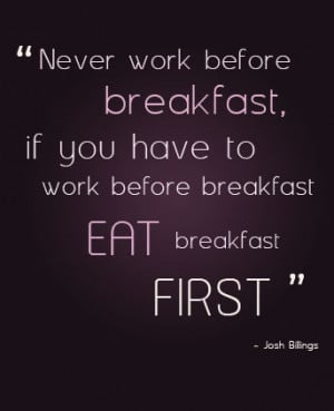 Make your own breakfast by adding:-
