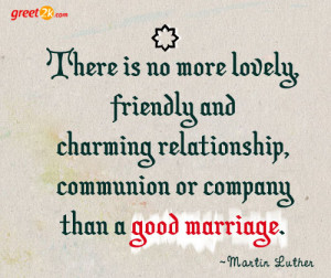 Good Marriage Quotes