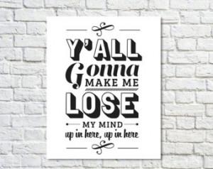 Typography Print, Type Poster, Gans ta Rap, Rap Quotes, Black White ...