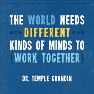 Temple Grandin Autism Quotes Inspirational