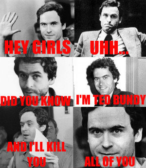 ted bundy does things