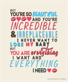 Seconds of Summer Lyric Quotes | everything i want, 5SOS this song i ...