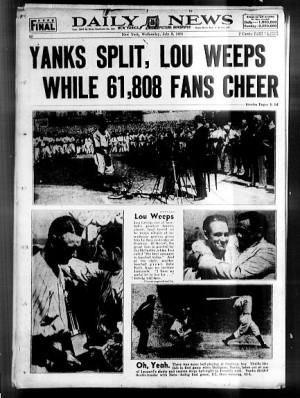 Lou Gehrig: The Daily News photos