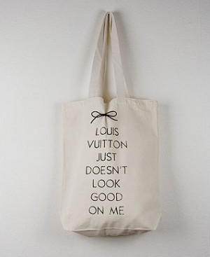 And many more funny quotes on a canvas tote. Plus, it's 100% eco ...