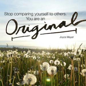 You are an original