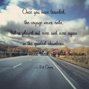 ... chambers. The mind can never break off from the journey.
