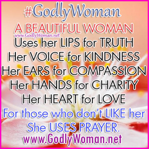 Godly Woman uses her heart for love