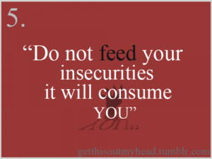 Quotes About Feeling Insecure. QuotesGram  Quotes About Fe...