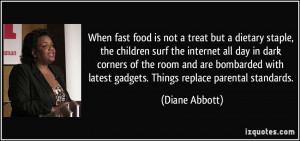 When fast food is not a treat but a dietary staple, the children surf ...