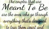 We Are Meant To Be Together Quotes The couples that are meant to