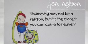 Swimming Quotes for Posters