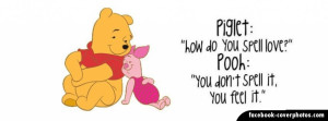 Pooh Bear Quote Cover Photo