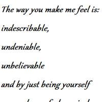 you make me feel quotes photo: You make me feel makemefeel.png