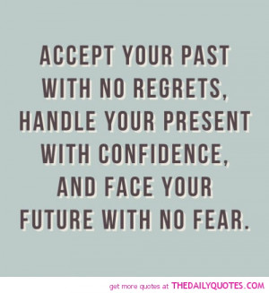 No Regrets Quotes and Sayings