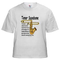 Not just a funny saxophone, the Saxobone combines the duck-like sound ...