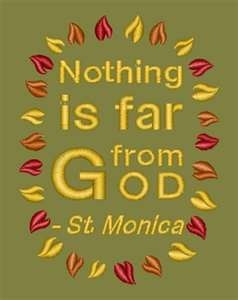 St. Monica quote