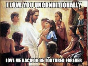 funny pics Jesus loves you