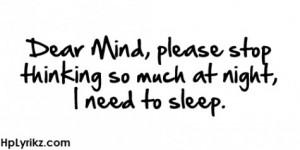 sleep #sleeping #trying to sleep #insomnia #can't stop thinking # ...