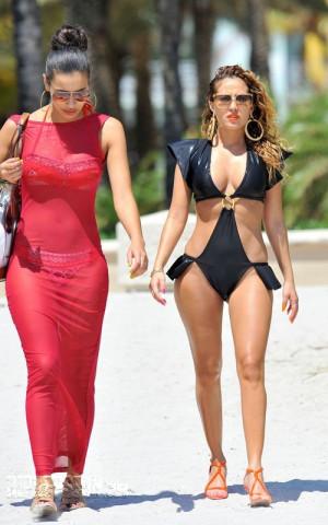 Thread: Adrienne Bailon SEXY UNIQUE BIKINI PHOTOS!!!